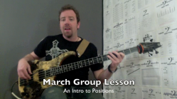 Seattle Bass Lessons 1